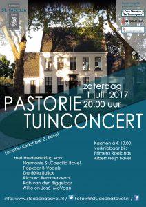 Pastorietuin concert